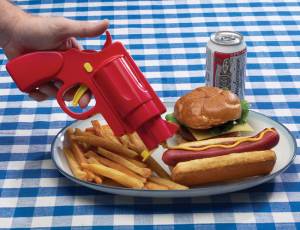 Condiment-Dispenser-Gun
